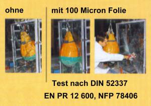 Security Star / Silver Star 100 Micron, Spion-Spiegelfolie - Premium